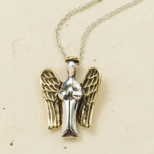 irish necklace guardian pendant angel
