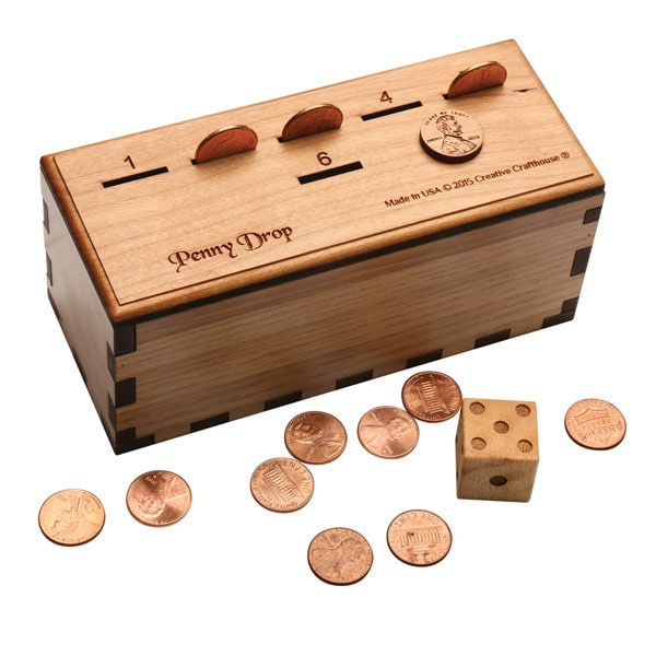 Wood Penny Drop Game 1 Review 5 Stars Signals Hx4482