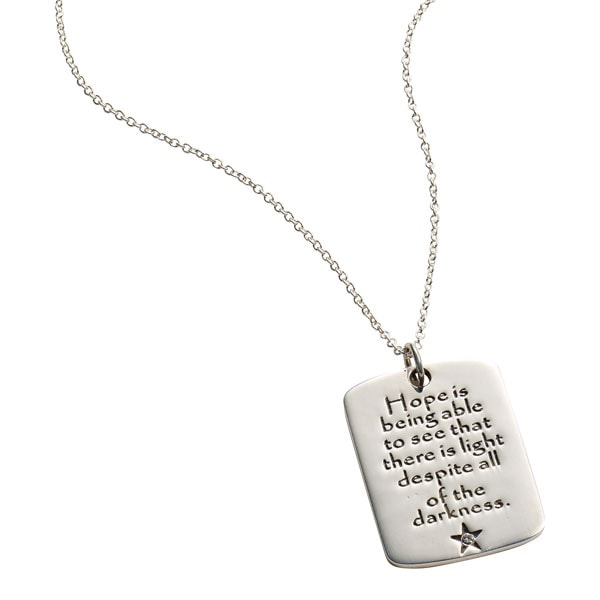 bu townhome necklace hope love u b faith