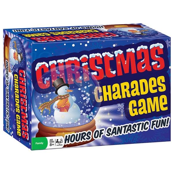 Christmas Charades.Christmas Charades Game