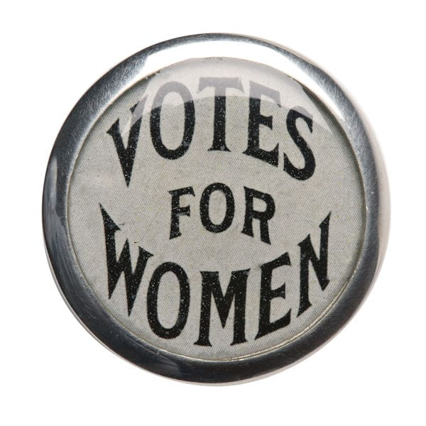 Votes For Women Pin Signals Hy7566