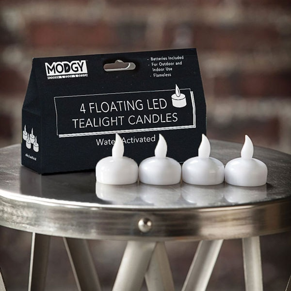 Led Floating Candles Set Of 4