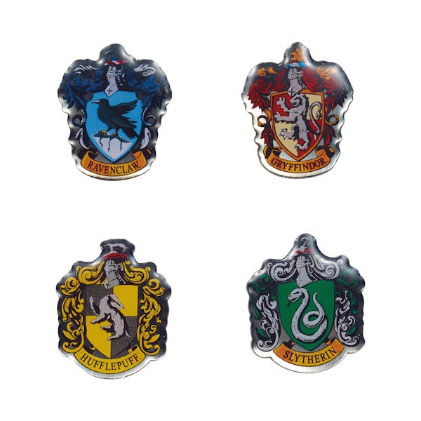 Enamel pin badge Harry Potter school crest Hogwarts