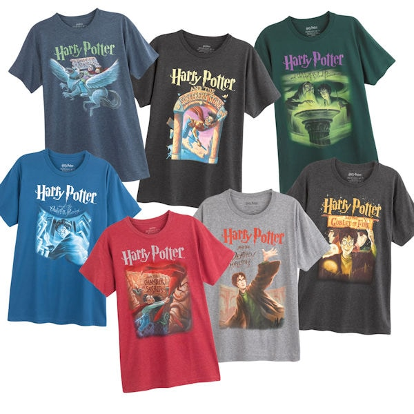 ae9c3eed Harry Potter™ Book Cover T-shirts | Signals | HZ2012