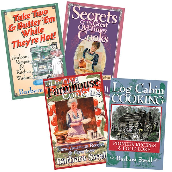 Vintage Recipe Books Set Of 4