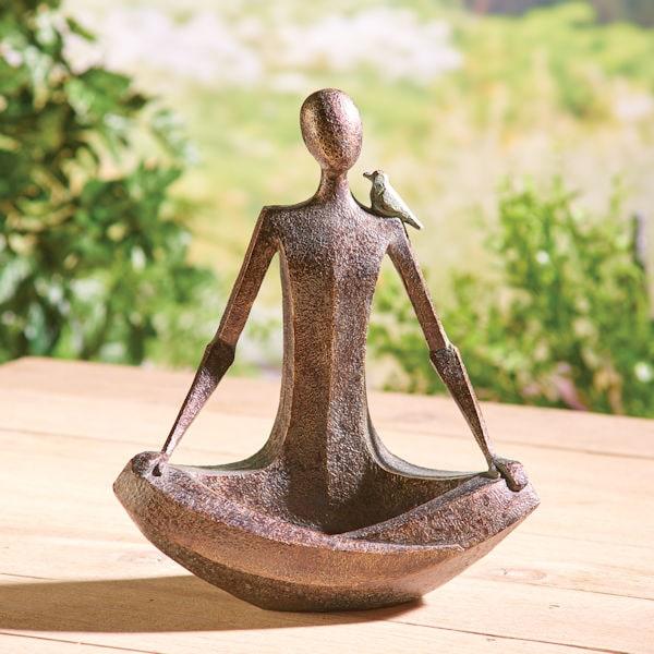 Zen Woman Sculpture 18 Reviews 4, Zen Garden Sculptures