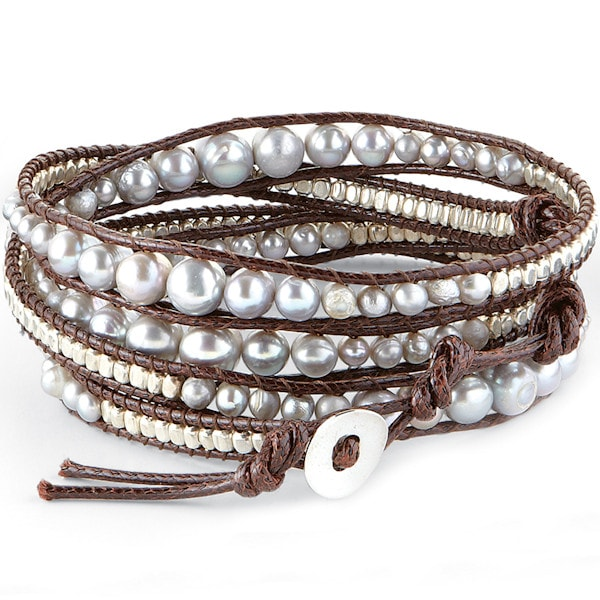 bracelets button rhodium ab wrap plated leather bracelet clasp product crystal l purple p b htm