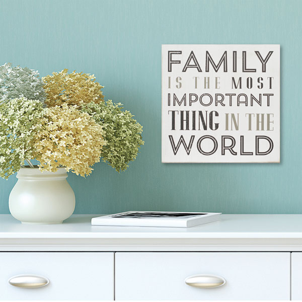 Family is the most important essay