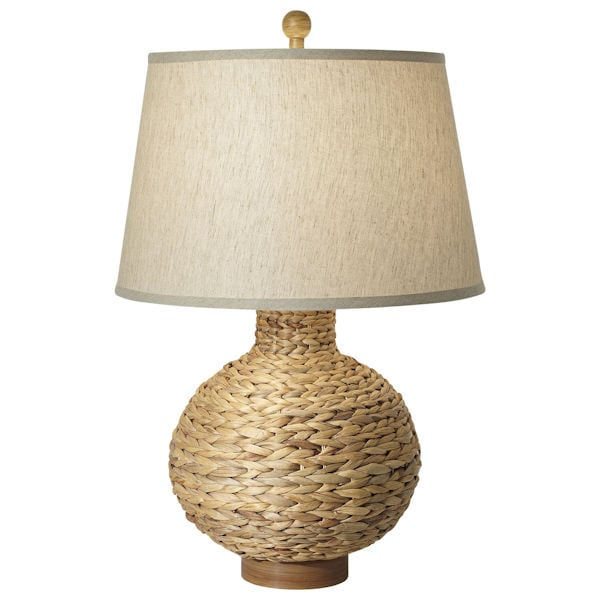 Charmant Woven Seagrass Table Lamp