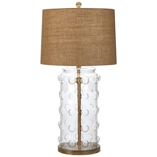 Bubble Glass Table Lamp Signals Pt9282