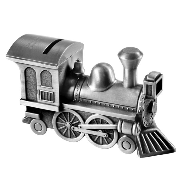 Personalized train piggy bank at signals ra0168e - Train piggy banks ...