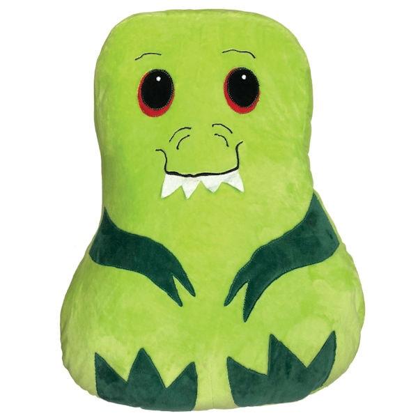 Snuggly Dinosaur Pet Pillow Stuffed Animal Cushion With Storage