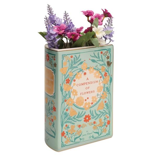 225 & Bibliophile Ceramic Vases - A Compendium of Flowers