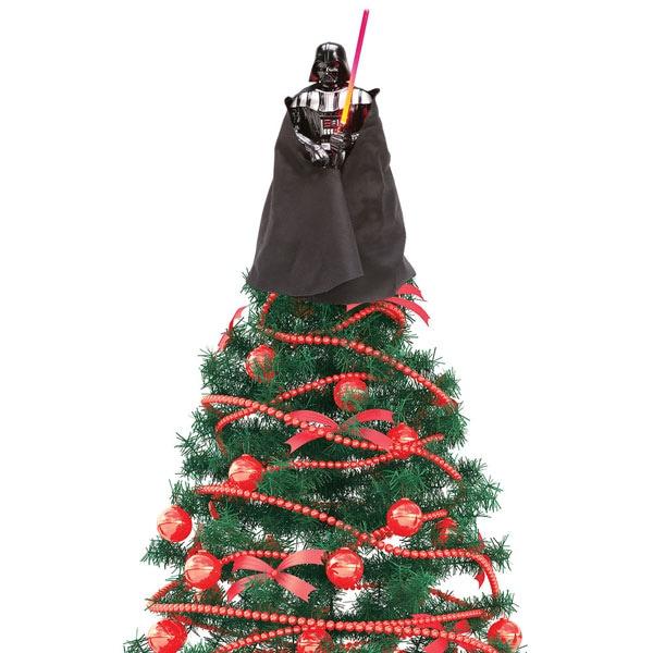Star Wars 174 Darth Vader Tree Topper With Led Light Saber