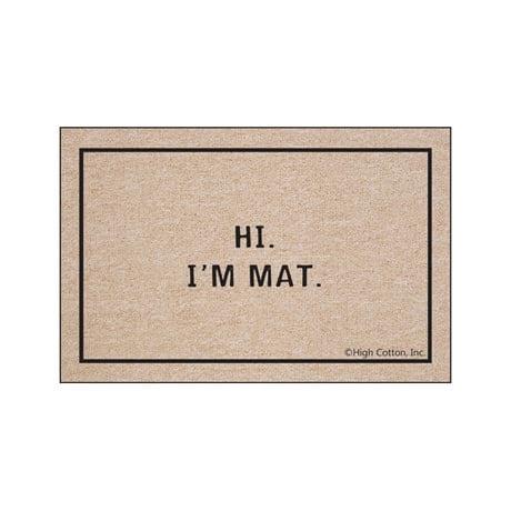 Hi I'm Mat - Doormat