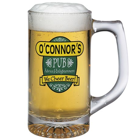 "Personalized ""Your Name"" We Cheer Beer Mugs"