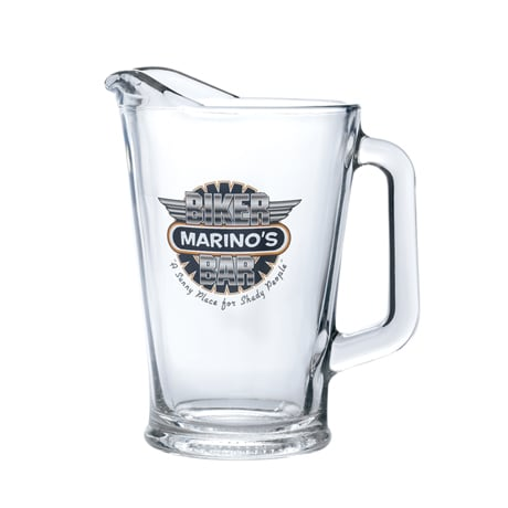 Personalized Biker Bar Pitcher