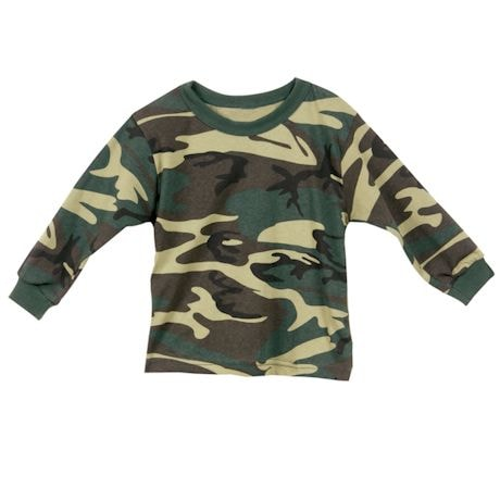 Camouflage Toddler Long Sleeve T-Shirt