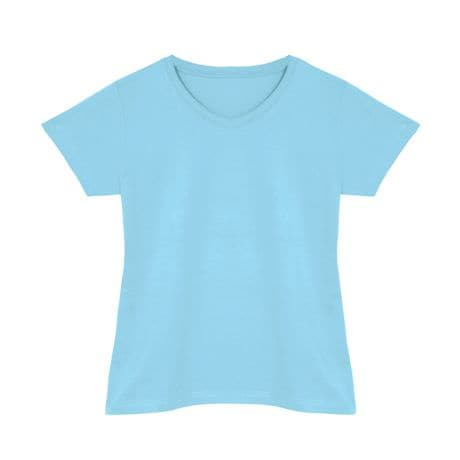 Light Blue V-Neck
