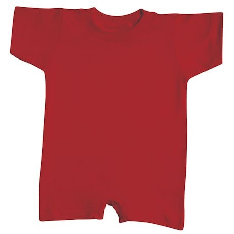Baby Snapsuit Red