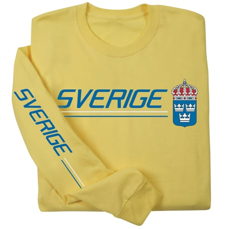 International Pride Long Sleeve Shirt - Sverige (Sweden)