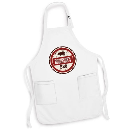 Personalized 'Your Name' BBQ Smoker & Griller Apron
