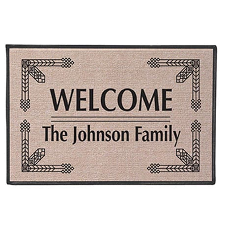 """Personalized """"Your Name"""" Doormat - Deco"""