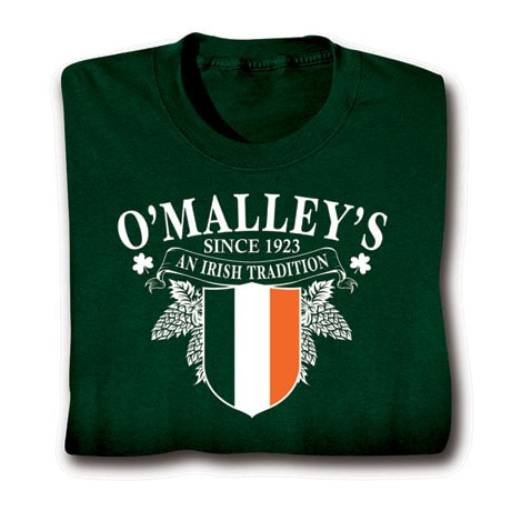 """Personalized """"Your Name"""" Irish Tradition Shirt"""