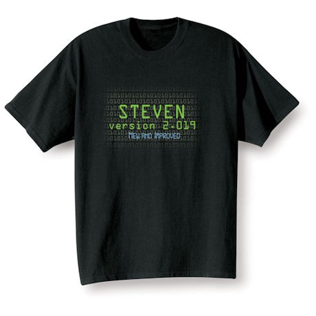 """Personalized """"Your Name""""  Goal Shirt - Version 2.017 New and Improved"""