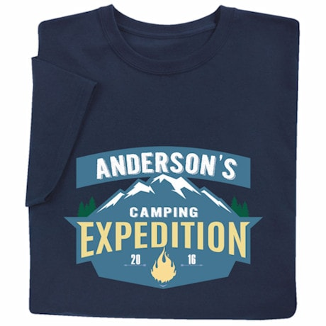 "Personalized ""Your Name"" Expedition T-Shirt"