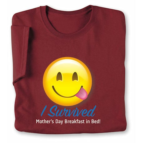 Personalized Silly Smiley Face Emoji T-Shirt