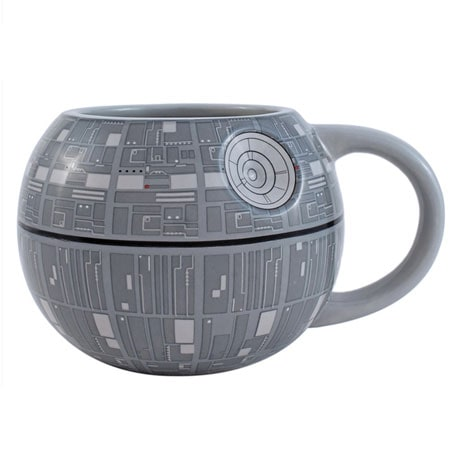 Star Wars 3D Death Star Ceramic Mug