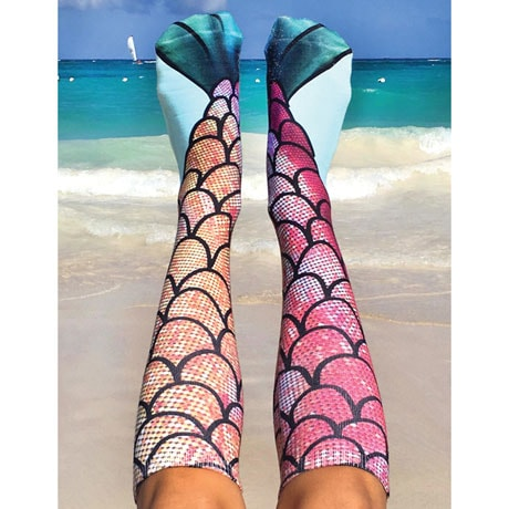 Mermaid Knee Highs