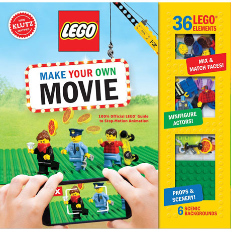 Lego® Make Your Own Movie Book Kit