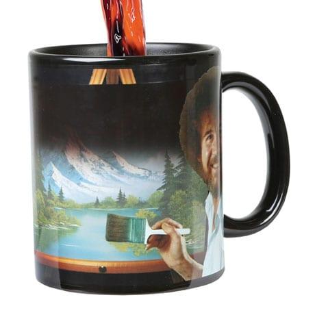Bob Ross Color Changing Mug