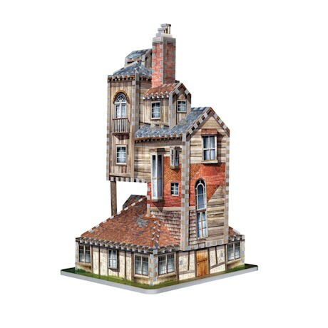 Harry Potter Hogwarts 3-D Puzzles - Weasley Home