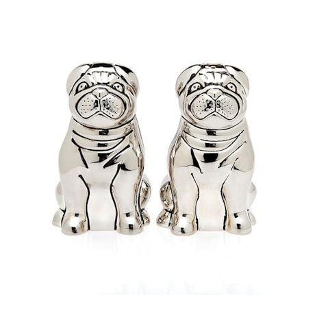 Pug Salt & Pepper Set