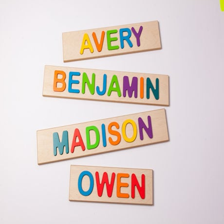 Personalized Children's Name Puzzle - Up to 9 Characters