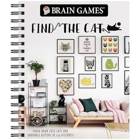 Find the Cat Brain Games Picture Book