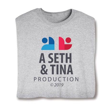 Customized Couple Production ©(Year) Shirts, Baby Snapsuit
