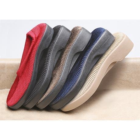 Spring Step Stretch Knit Slip On Shoes