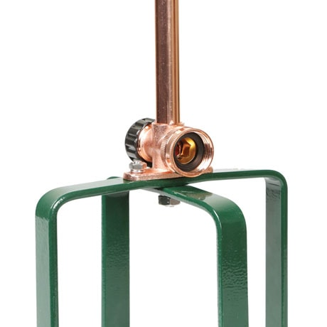 Copper Decorative Spinning Garden Sprinkler 36""