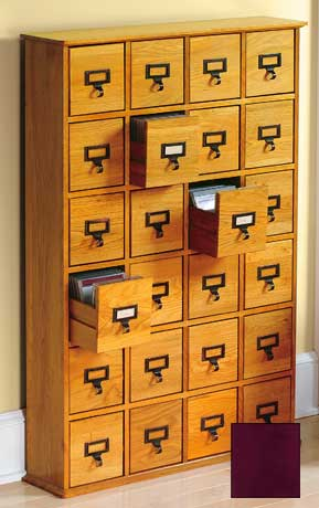 Library CD Storage Cabinets