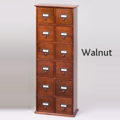 ... Library CD Storage Cabinet   12 Drawers ...
