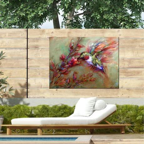 Hummingbird All-Weather Art