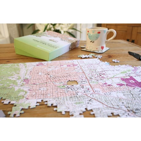 Personalized Hometown Jigsaw Puzzle