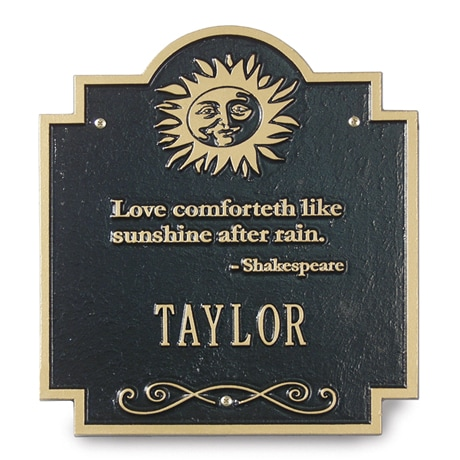 Personalized House Sign
