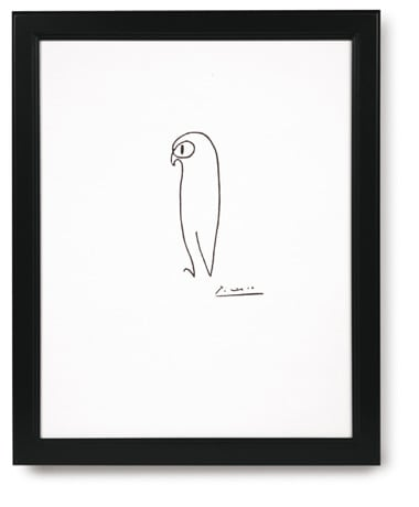 Signals - Gifts That Inform, Enlighten & Entertain :  picasso print signals owl