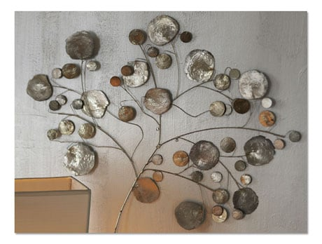 Signals - Capiz Tree :  art shell accessories modern rustic