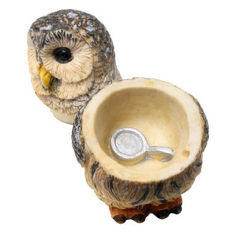 Owl Pot Bellys® Boxes - Barred Owl